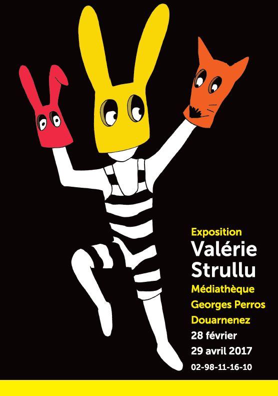 Illustration Fêtes et manifestations Exposition- Valérie Strullu