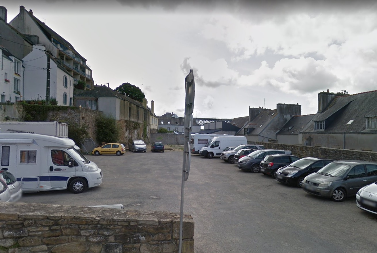 Illustration Campings cars Douarnenez - Parking Jean Barré