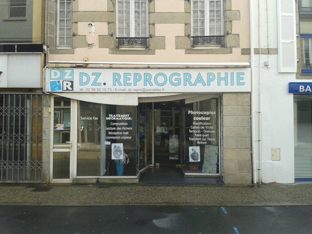 Illustration Shopping Douarnenez Reprographie