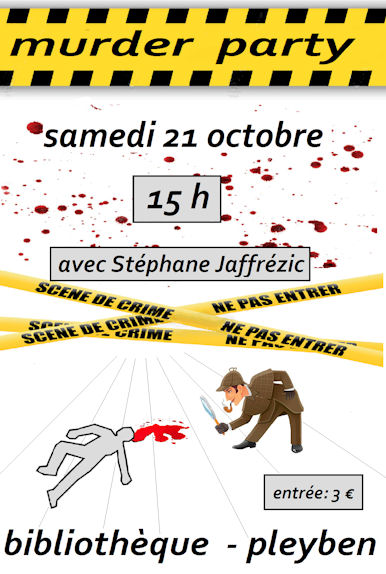 Murder party à la bibliothèque