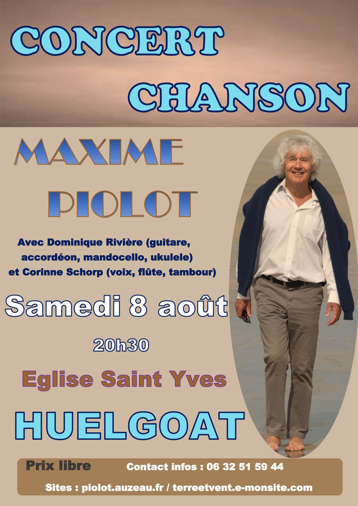 "Concert de Maxime Piolot ""Un autre regard"""