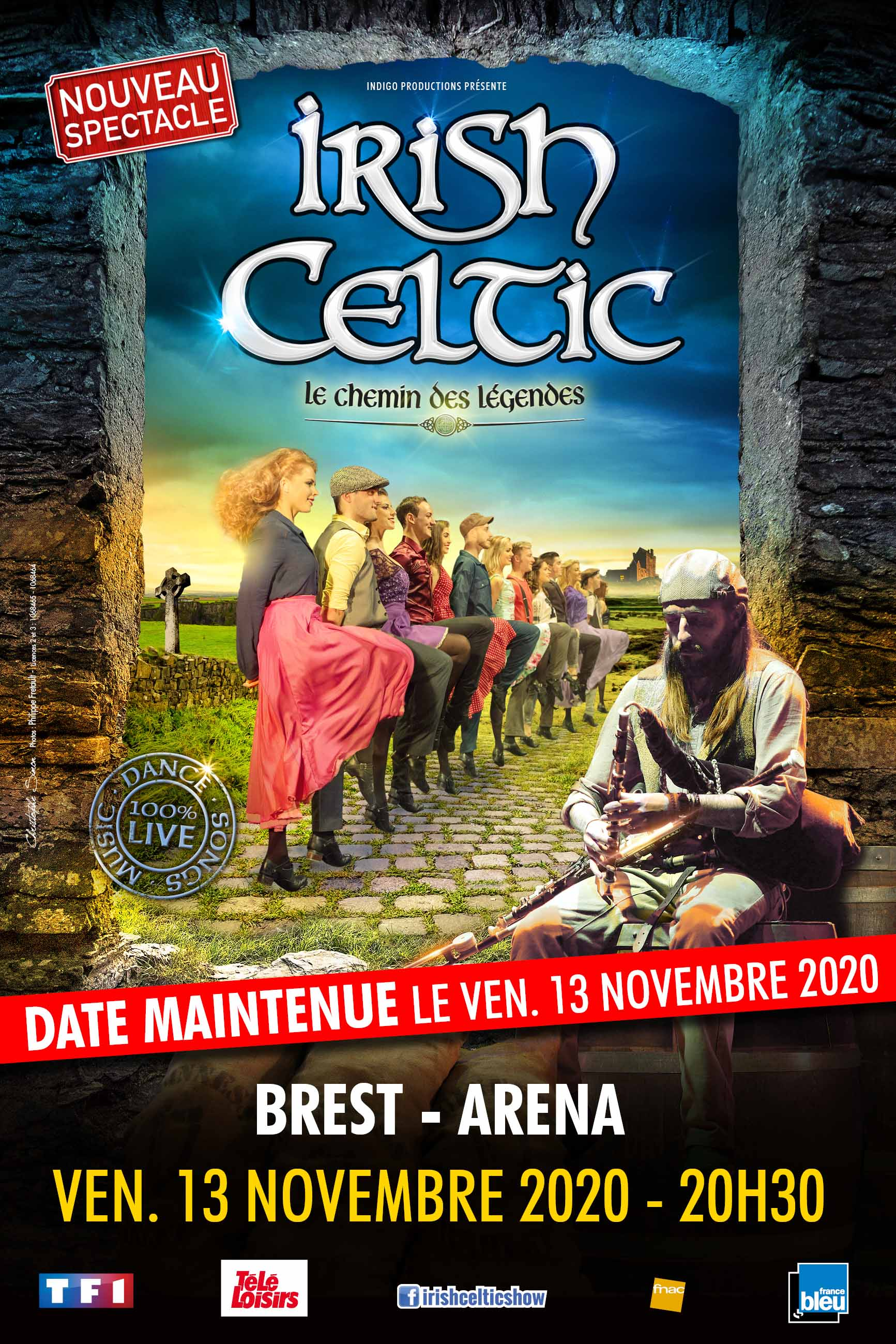 "Irish Celtic ""Le Chemin des Légendes"""