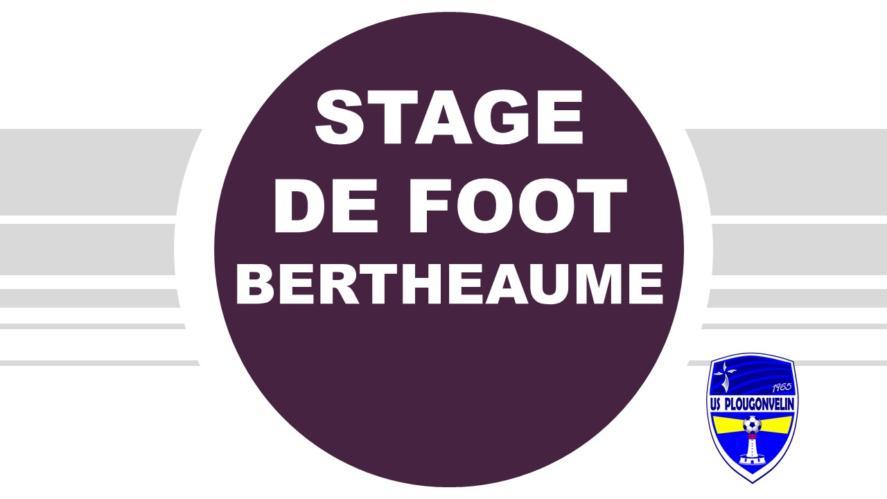 Bertheaume'Foot