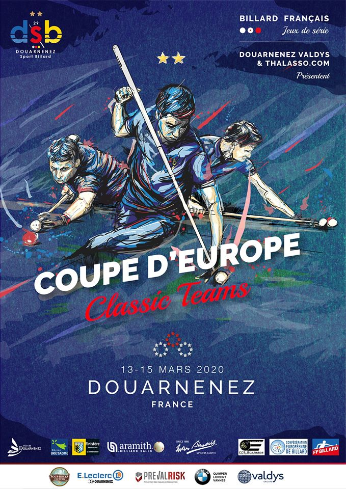 Coupe d'Europe Classic Teams de billard français