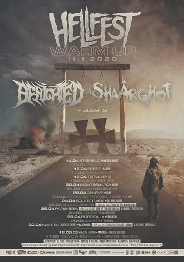 Warmup Hellfest Tour 2020 : Beyond this road