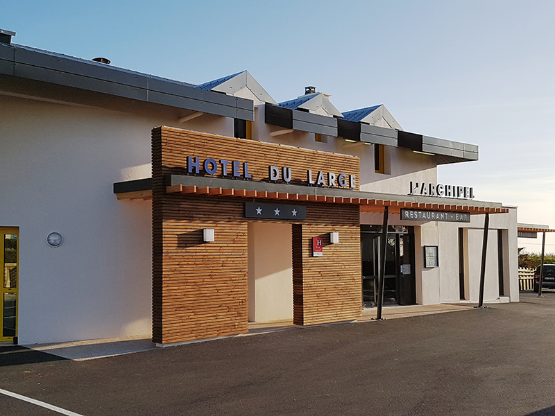 Hôtel - restaurant du Large