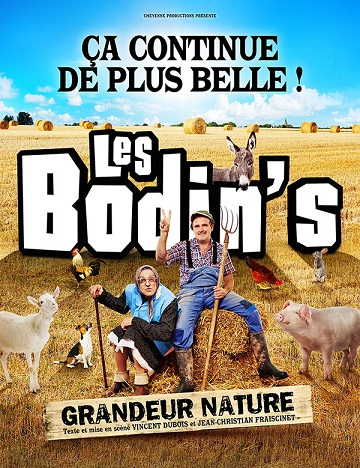 "Spectacle Les Bodin's ""Grandeur nature 2021"""