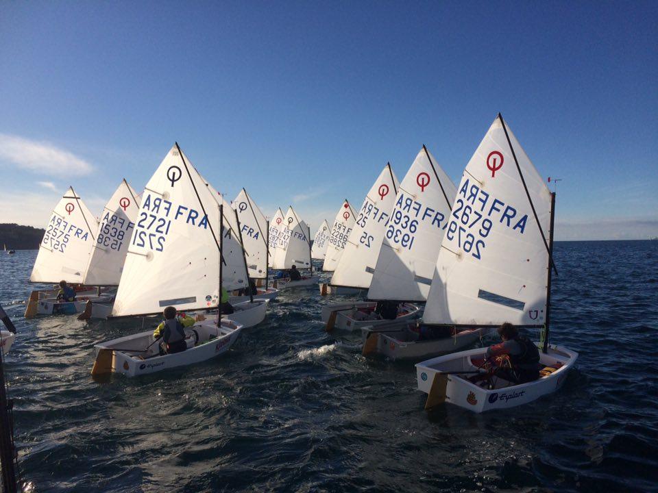 Championnat de Bretagne Optimist et 420