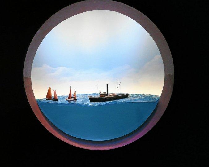 Exposition Diorama sur le remorqueur Iroise