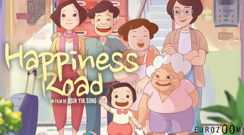 "Projection du film d'animation ""Happiness Road"""