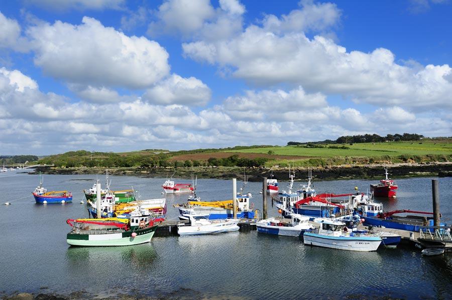 Port pittoresque de Lanildut