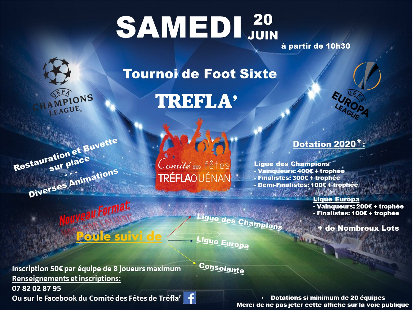 Tournoi de Football Sixte