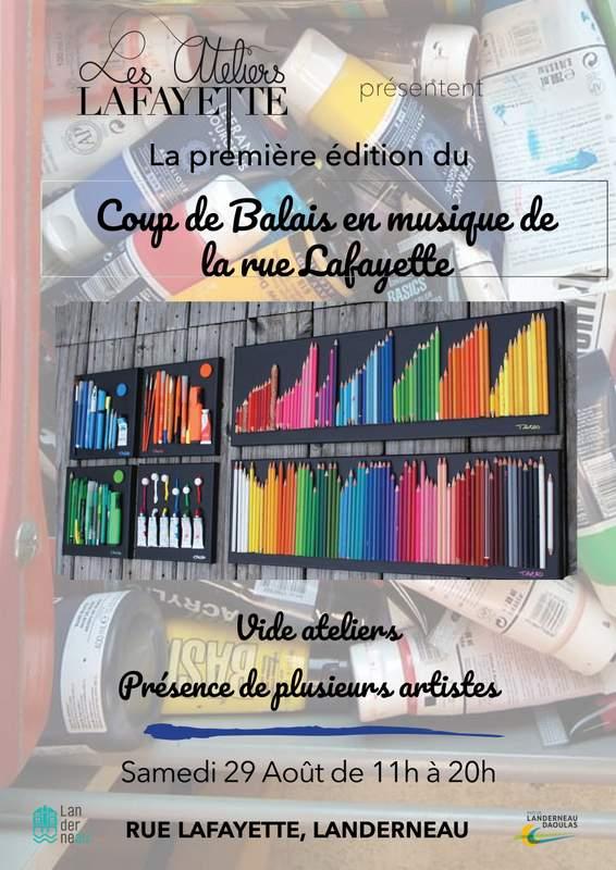 Vide atelier : Coup de balais des ateliers Lafayette