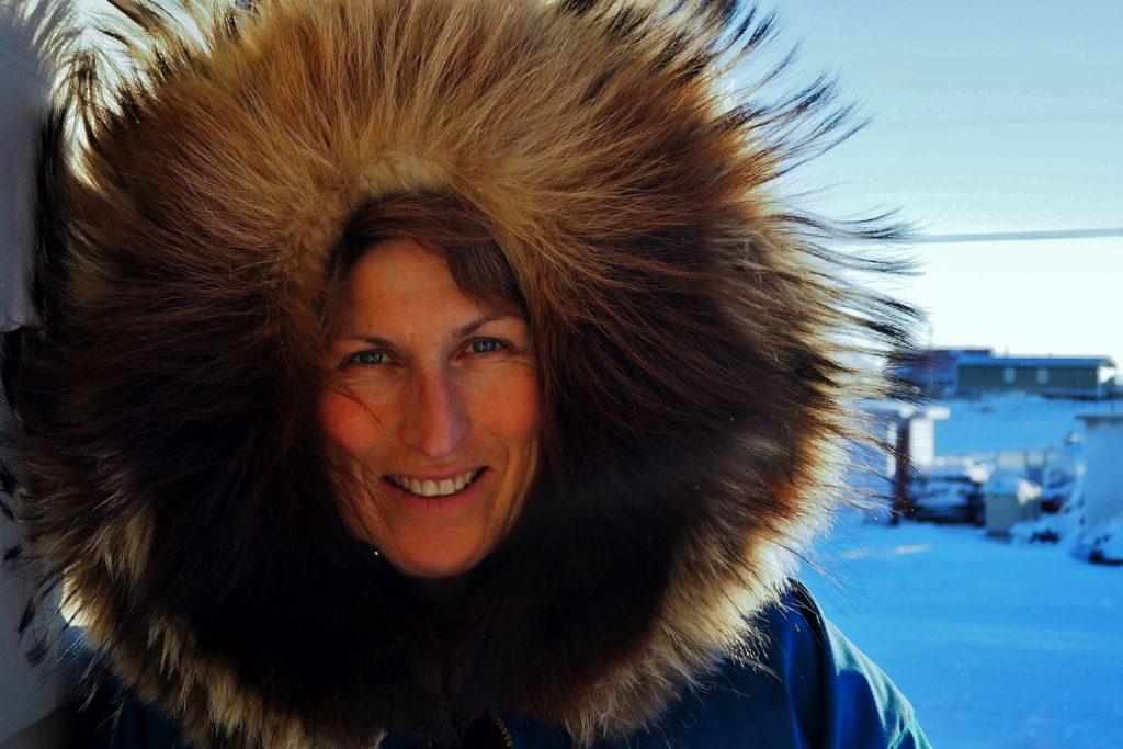 """Projection : """"passagère de l'Arctique"""" d'Anne Quéméré"""