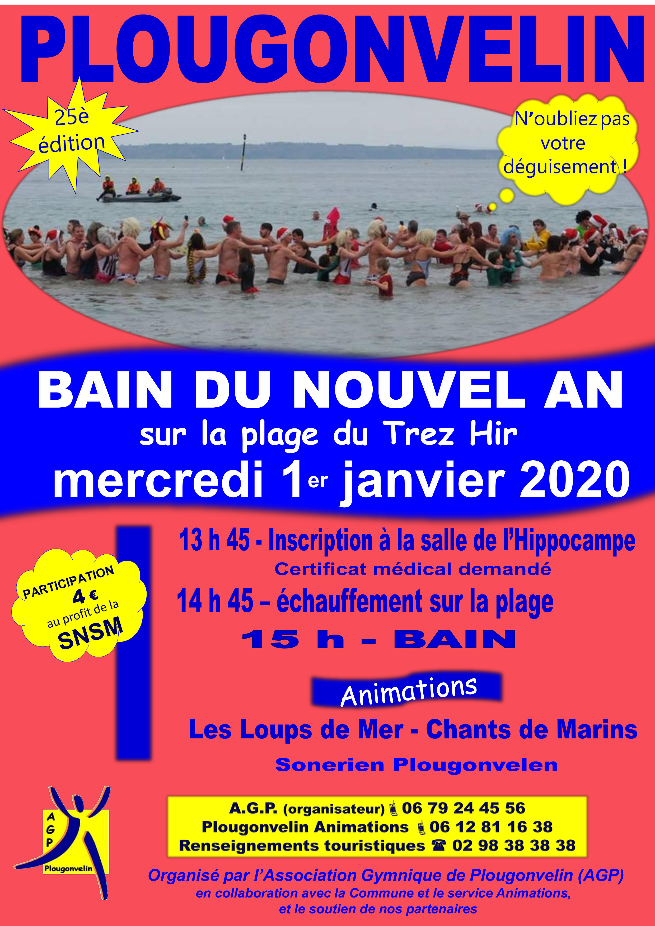 Bain du nouvel an