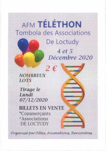 Tombola - Téléthon