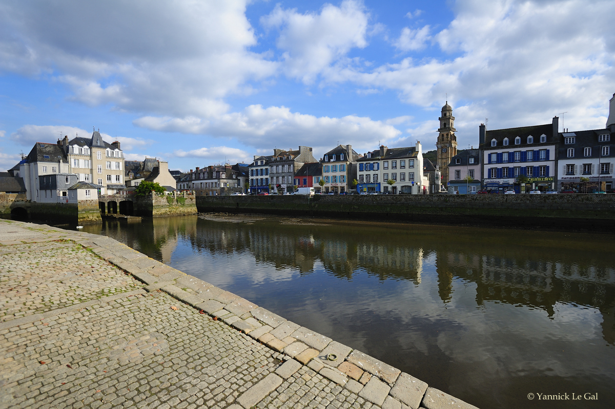 Port pittoresque de Landerneau