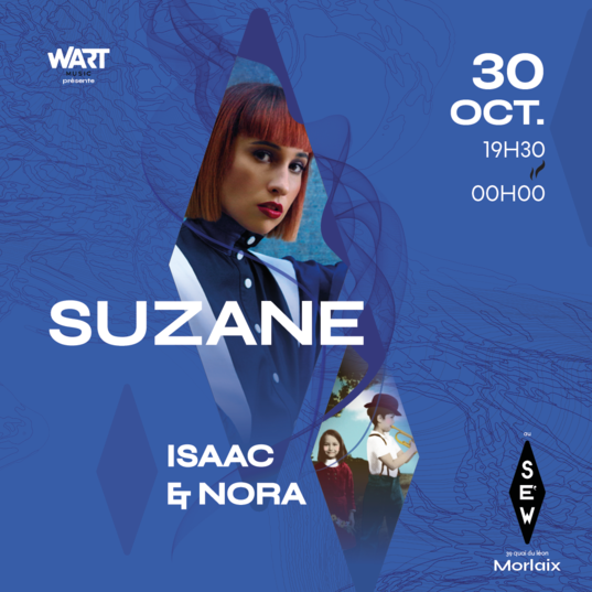 Concert SUZANE + ISAAC & NORA